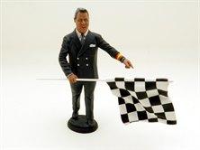1:18 Le Mans Miniatures Figur Director de Corse 1950-1970