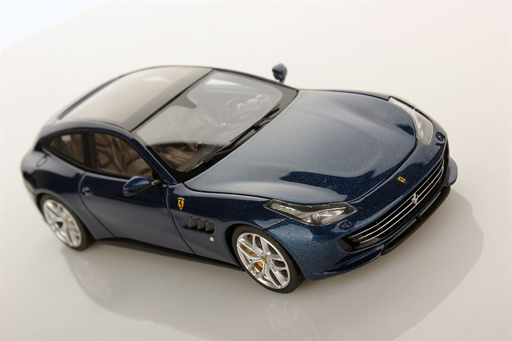 ferrari gtc4 lusso t paris 2016 blue by looksmart. Black Bedroom Furniture Sets. Home Design Ideas