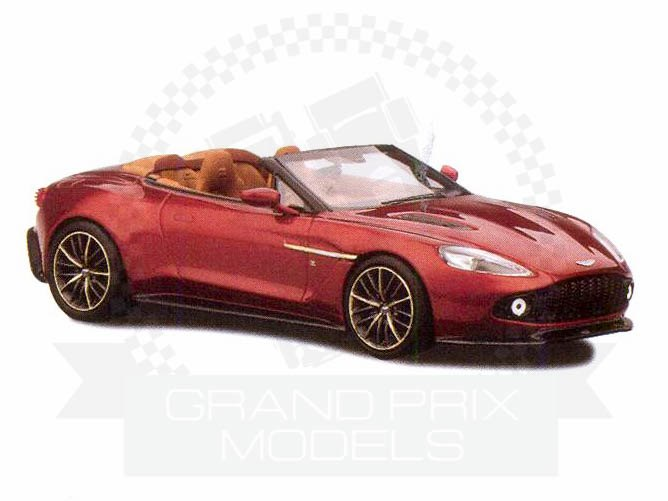 aston martin vanquish zagato volante red by truescale. Black Bedroom Furniture Sets. Home Design Ideas