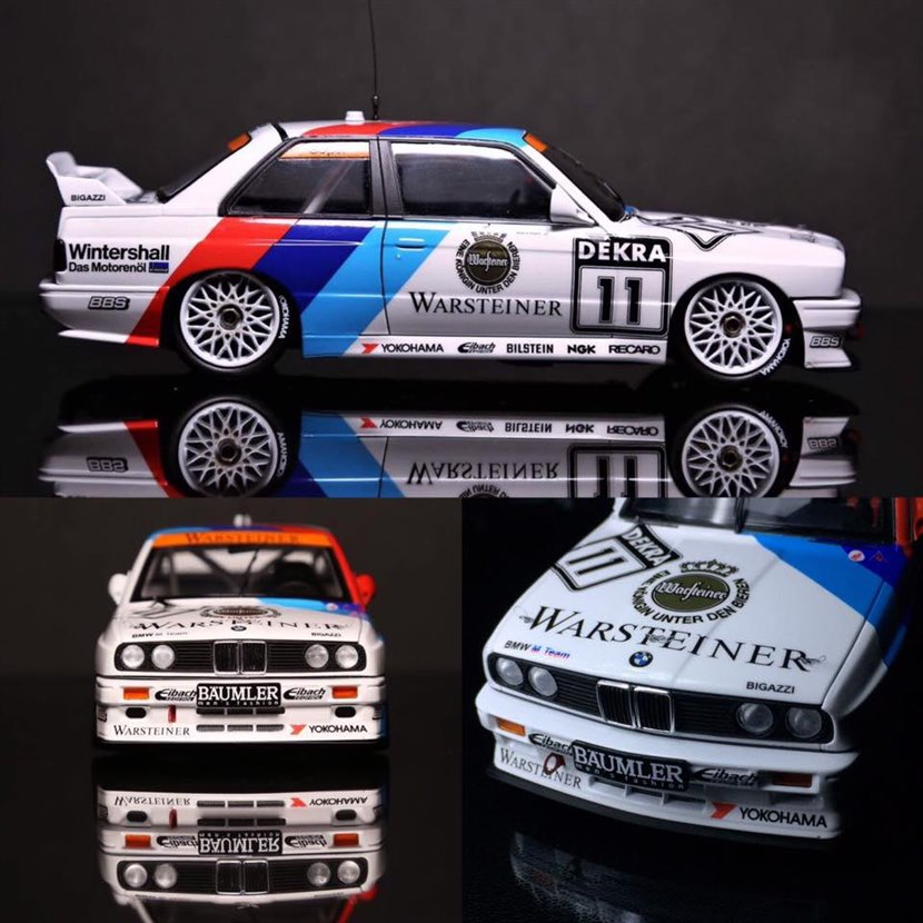 2018 Bmw M3 >> BMW M3 (E30) DTM 1991 Cecotto 1:24 by Beemax