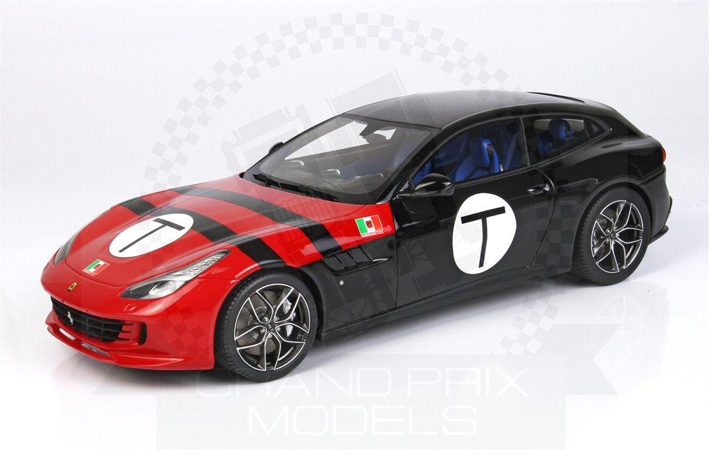 Ferrari Gtc4 Lusso T Scuderia Sss Red Black 1 18 By Bbr
