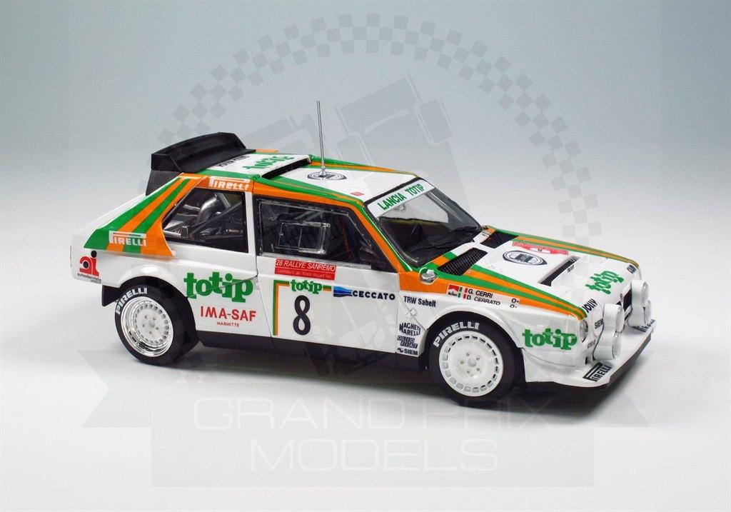 Lancia Delta S4 Sanremo Rally 86 in 1:24 NUNU-BEEMAX 4545024005