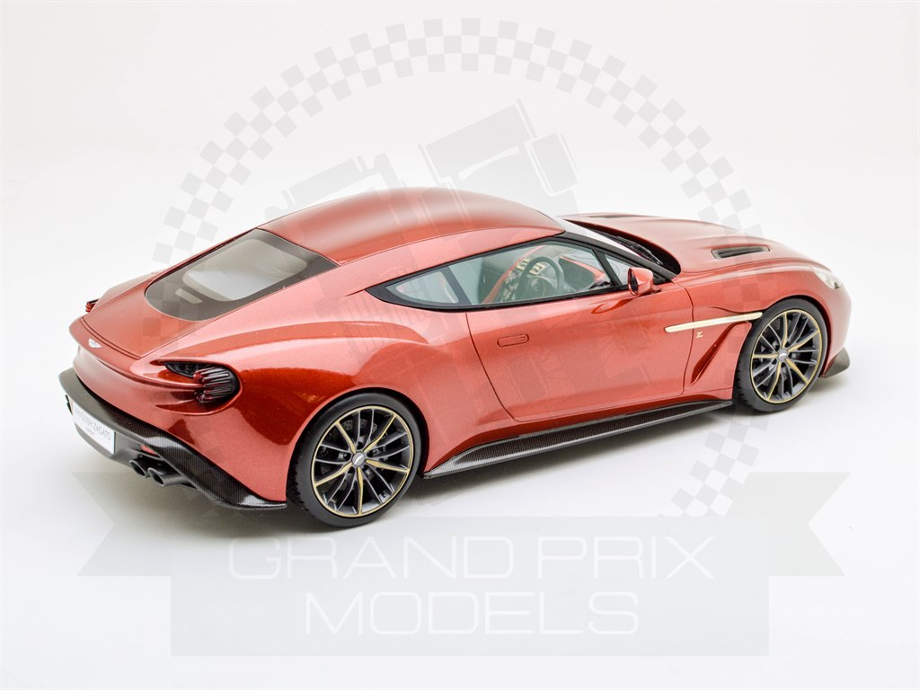 aston martin vanquish zagato red 1 18 by top speed. Black Bedroom Furniture Sets. Home Design Ideas