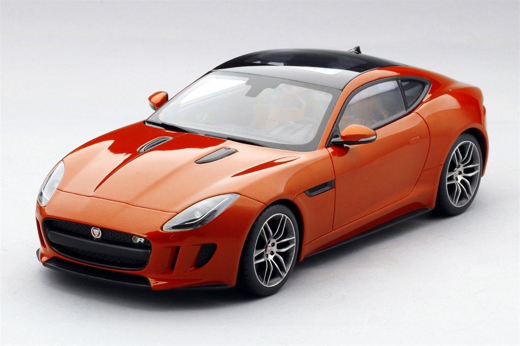 jaguar f type r firesand 1 18 by top speed. Black Bedroom Furniture Sets. Home Design Ideas