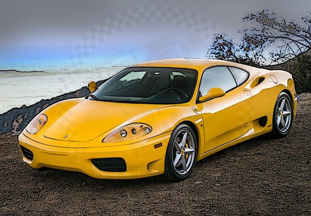 Ferrari 360 Modena 1999 Yellow 1 18 By Bbr