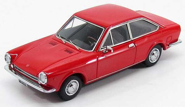 fiat 124 sport coupe series 1 1967 red by kess. Black Bedroom Furniture Sets. Home Design Ideas