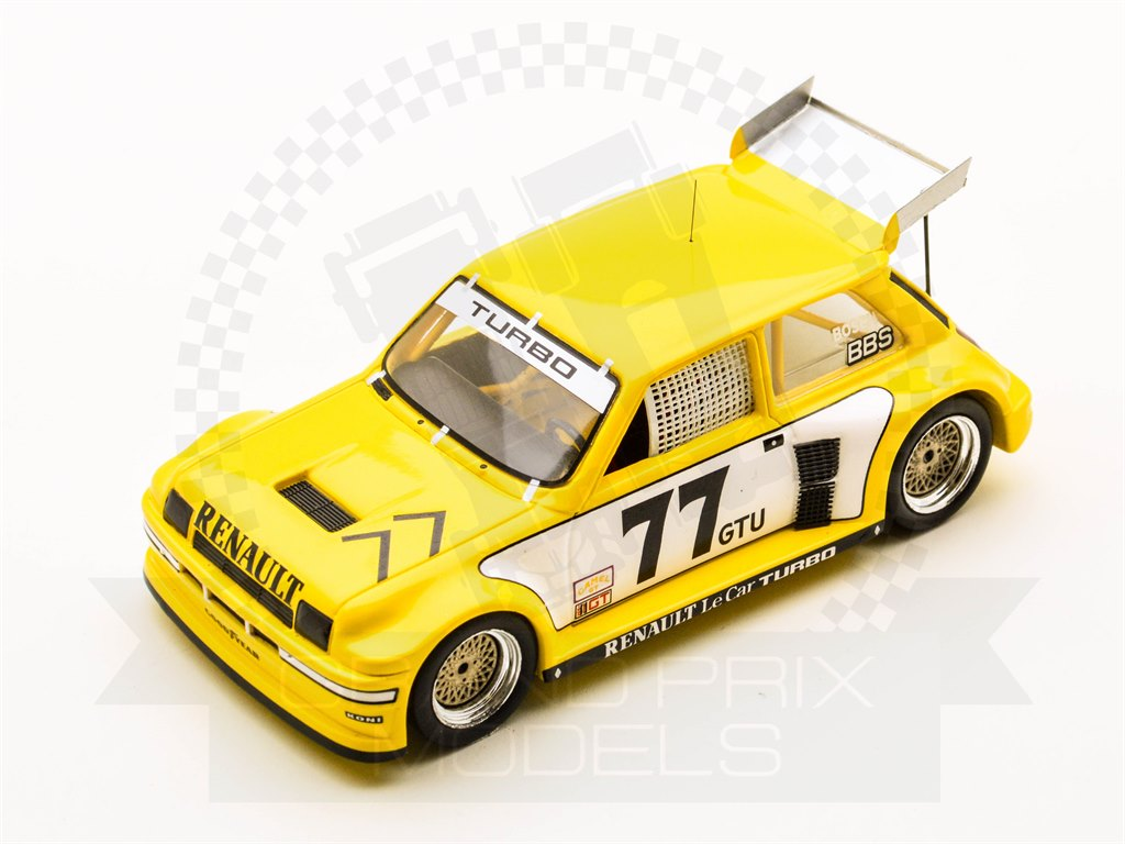 Renault 5 Le Car Turbo 3rd IMSA Road Atlanta 1981 #77