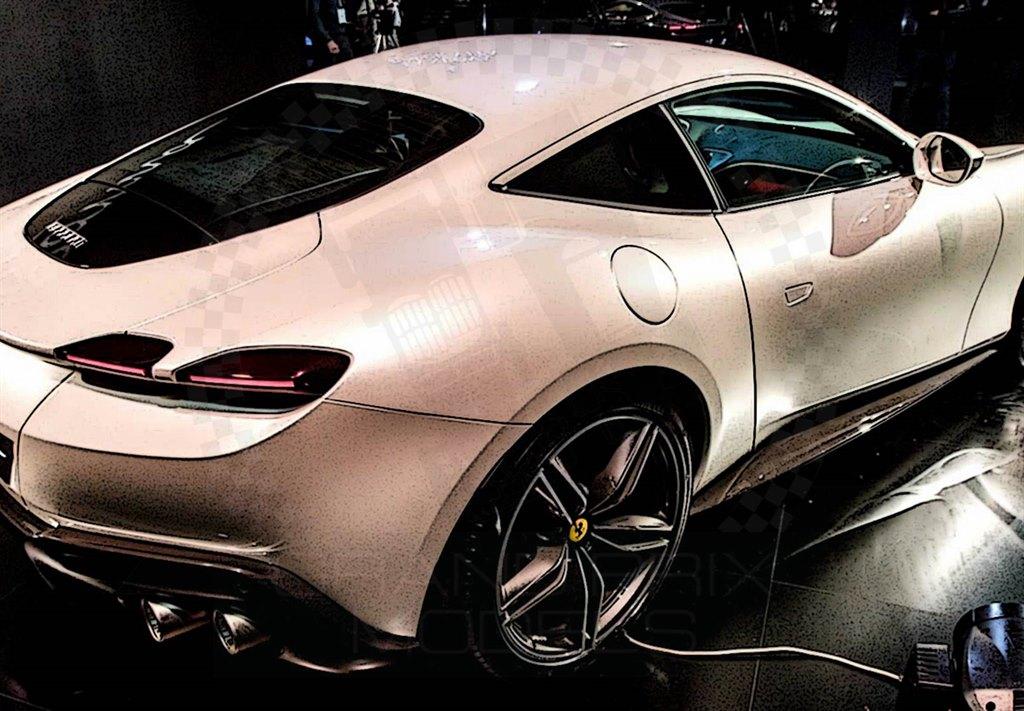 Ferrari Roma Rome 2019 White 118 by BBR