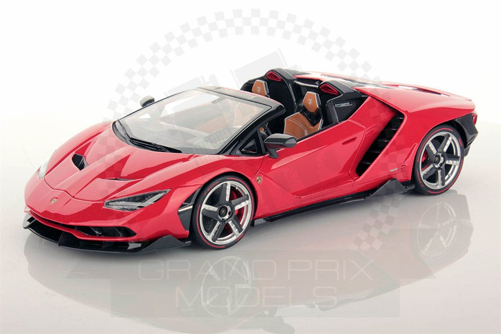 lambo centenario roadster 2016 red 1 18 by mr collection. Black Bedroom Furniture Sets. Home Design Ideas