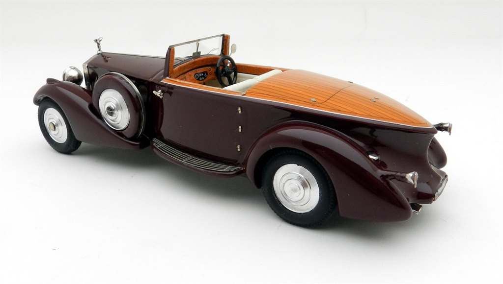 rolls royce phantom ii 125 ry 1934 by ccc. Black Bedroom Furniture Sets. Home Design Ideas