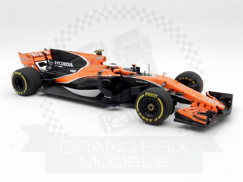 Mclaren F1  Mcl32 Honda #2 Australian Gp 2017 Stoffel Vandoorne SPARK 1:43 S5041