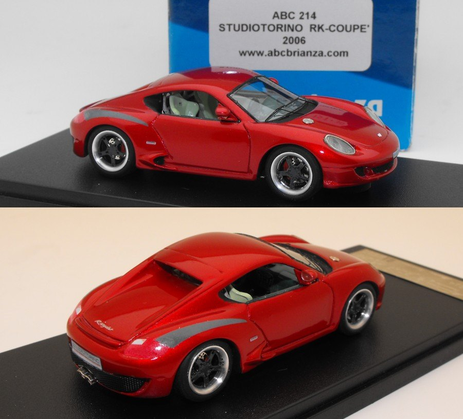 Ruf Rk Coupe Pc1 Street 2005 By Abc Brianza