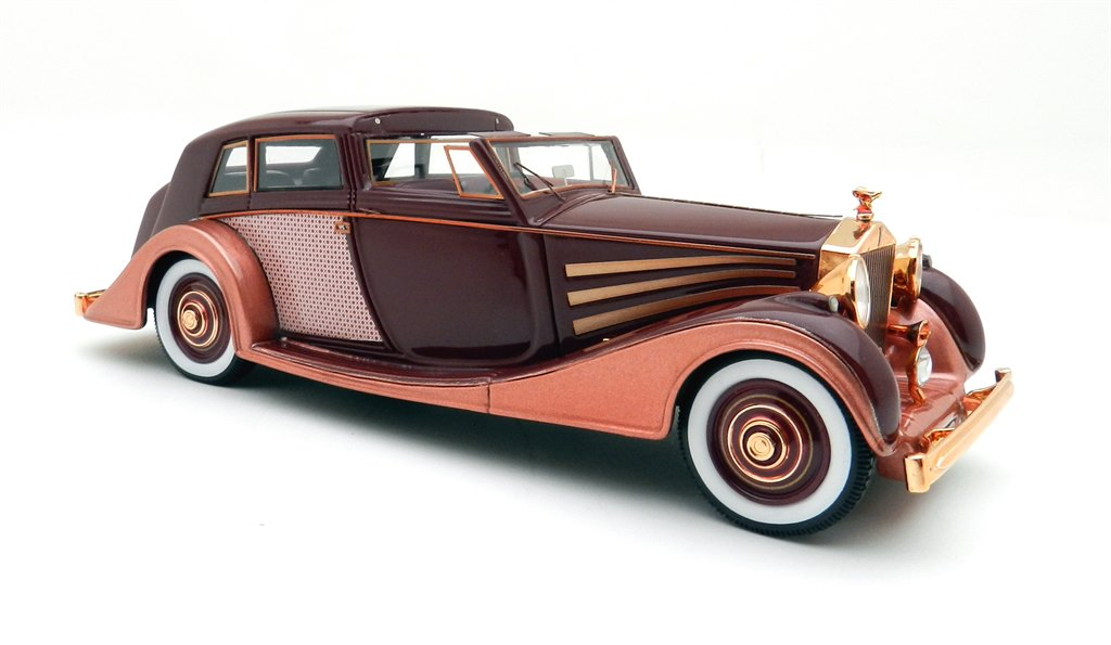 rolls royce phantom iii sedanca copper by glm models. Black Bedroom Furniture Sets. Home Design Ideas