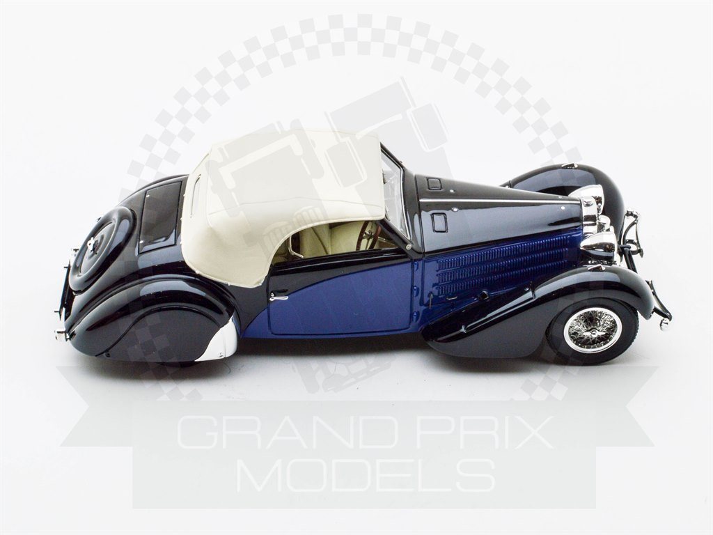 Bugatti T57 Cabriolet 1935 Stelvio Serie 2 Blue/Black by Carbone
