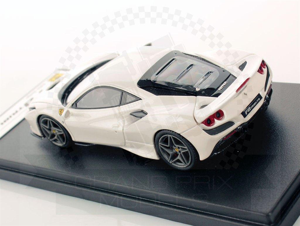Ferrari F8 Tributo 2019 White by Looksmart