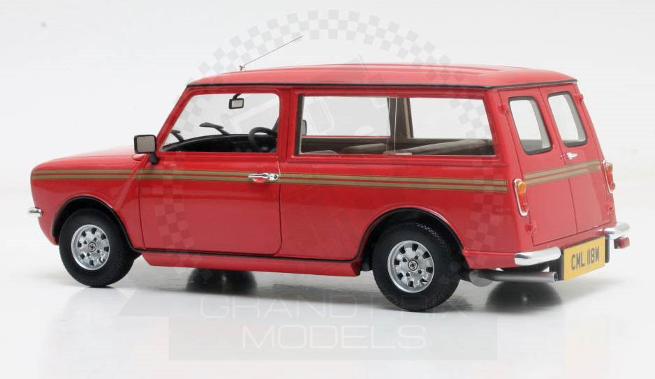 mini clubman 1974 red 1 18 by cult scale models. Black Bedroom Furniture Sets. Home Design Ideas