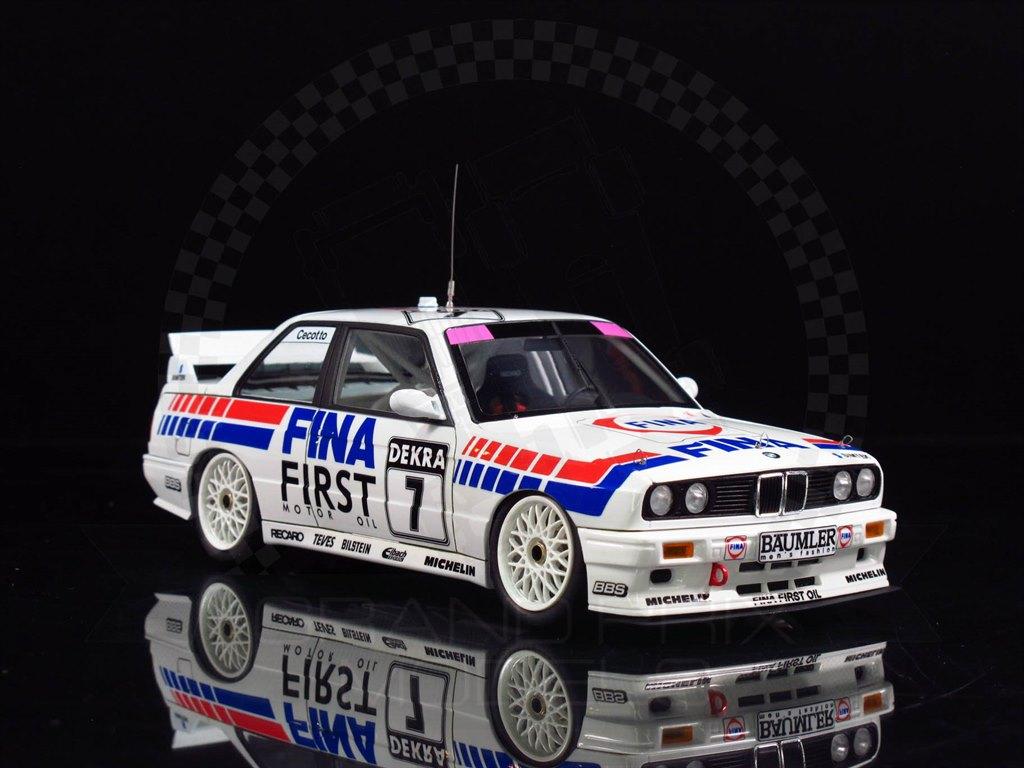 1992 BMW M 3 E 30 Gruppe A DTM PE Detail Parts Set 1:24 Aoshima Beemax 106310