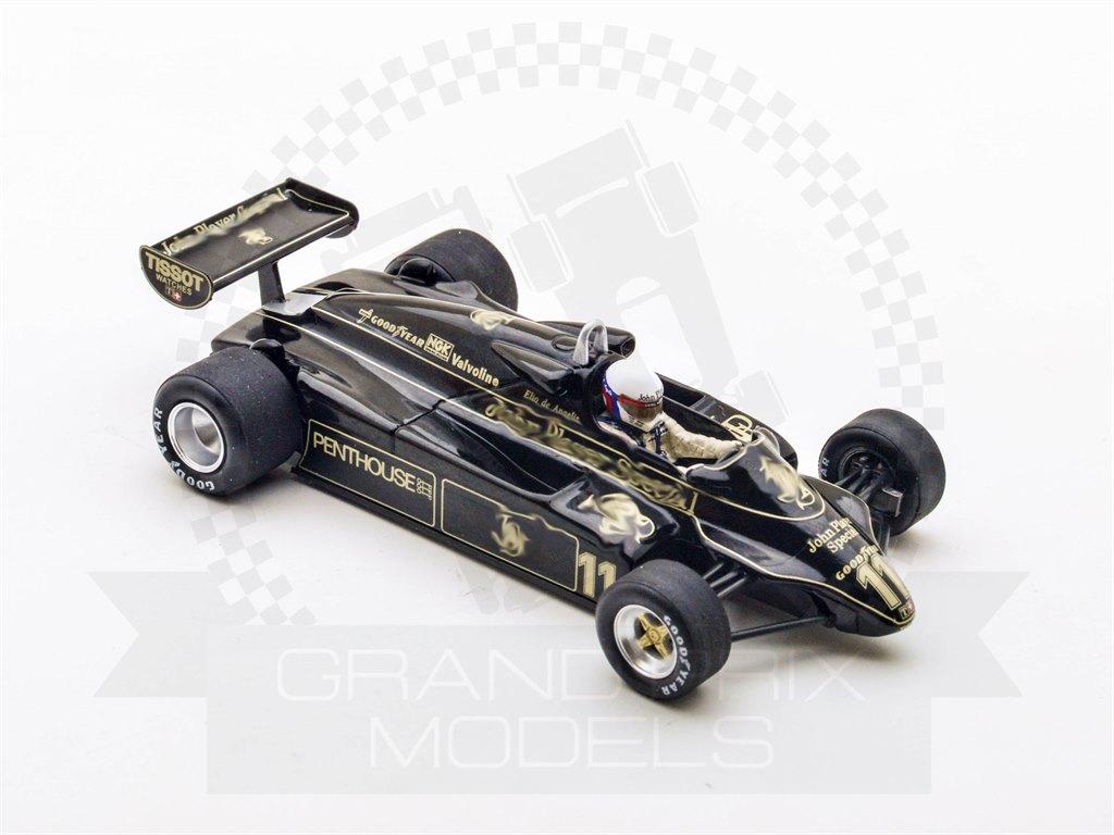 Lotus 91 1st Austria 1982 11 De Angelis By Spark