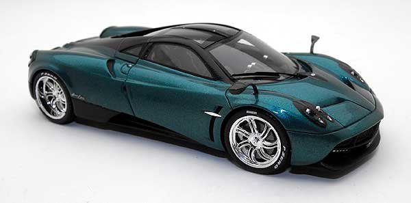 pagani huayra 2012 green by spark. Black Bedroom Furniture Sets. Home Design Ideas