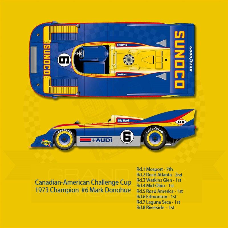 Porsche 917/30 Can-Am 1973 #6 Sunoco 1:12 by Hiro