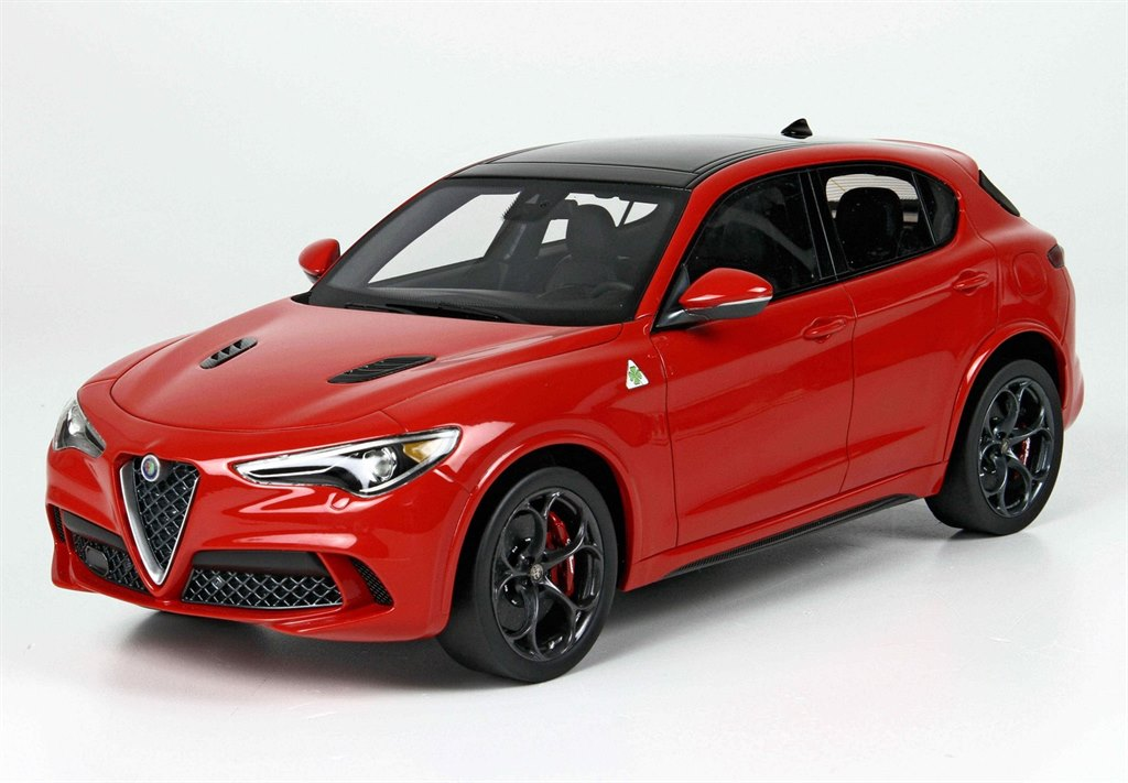 alfa romeo stelvio quadrifoglio la show 2016 red 1 18 by. Black Bedroom Furniture Sets. Home Design Ideas