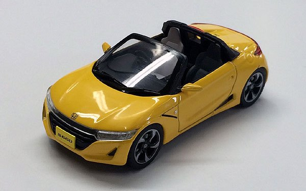 honda s660 2014 yellow by ebbro. Black Bedroom Furniture Sets. Home Design Ideas