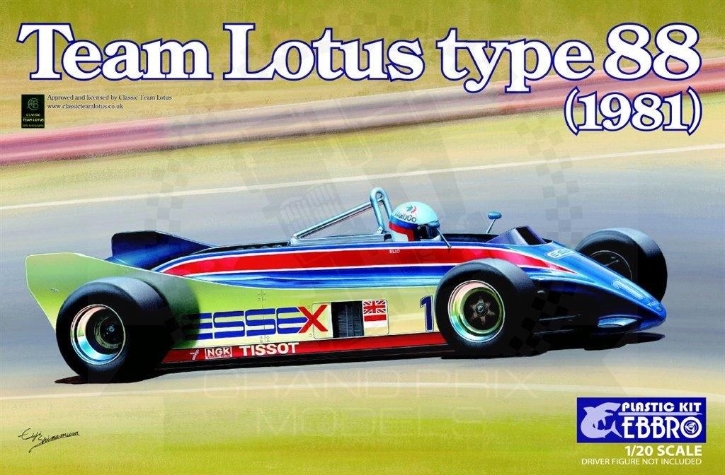 Lotus 88 f1 1981 essex 120