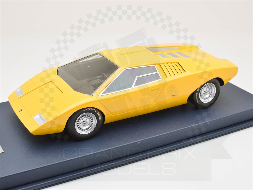 Lamborghini Countach Lp500 Prototype 1971 Yellow 1 18 By