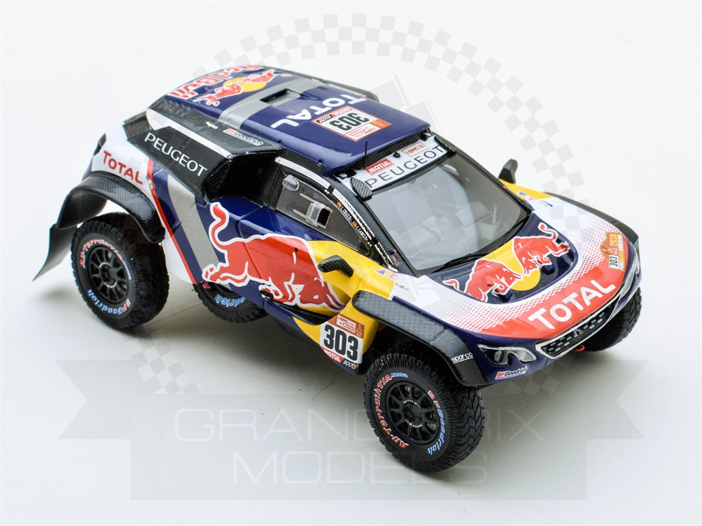peugeot 3008dkr 1st dakar 2018 303 sainz by spark. Black Bedroom Furniture Sets. Home Design Ideas