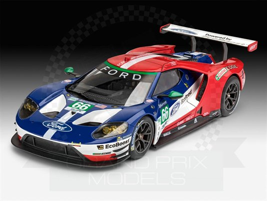ford gt le mans 2017 1 24 by revell. Black Bedroom Furniture Sets. Home Design Ideas
