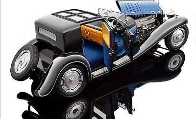 bugatti royale coupe de ville 1931 1 18 by bauer. Black Bedroom Furniture Sets. Home Design Ideas